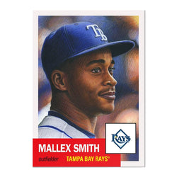 Tampa Bay Rays #14 Mallex Smith MLB Topps Living Set Card