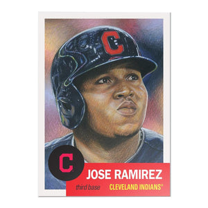 Cleveland Indians #20 Jose Ramirez MLB Topps Living Set Card