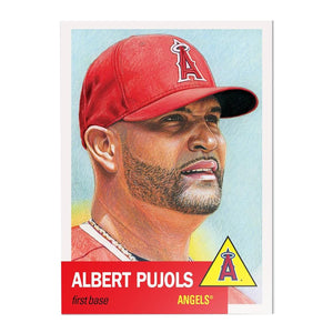 LA Angels #22 Albert Pujols MLB Topps Living Set Card