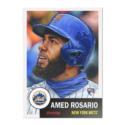 NY Mets #23 Amed Rosario MLB Topps Living Set Card