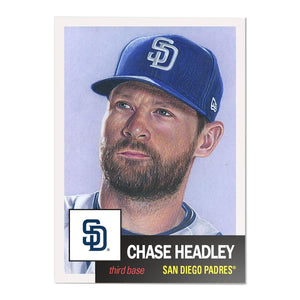 San Diego Padres #24 Chase Headley MLB Topps Living Set Card