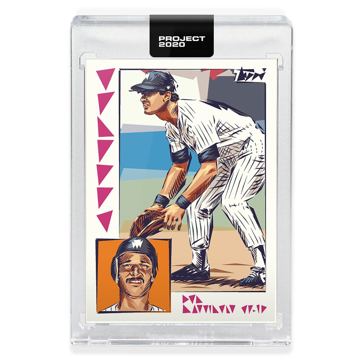Topps PROJECT 2020 Card 208 - 1984 Don Mattingly by Naturel