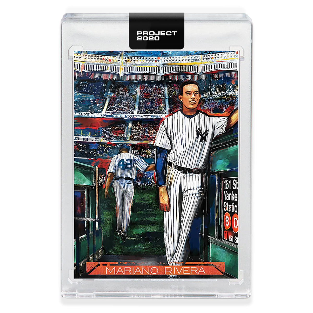 Topps PROJECT 2020 Card 242 - 1992 Mariano Rivera by Andrew Thiele