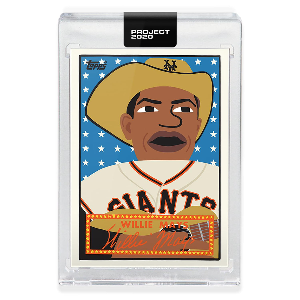 Topps PROJECT 2020 Card 244 - 1952 Willie Mays by Keith Shore