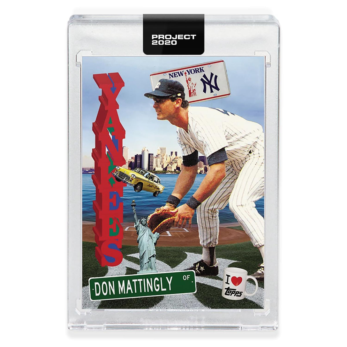 Topps PROJECT 2020 Card 278 - 1984 Don Mattingly by Don C