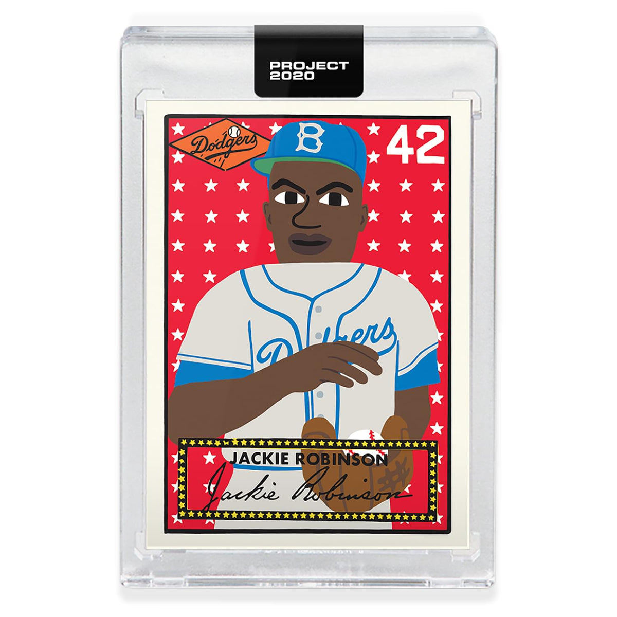 Topps PROJECT 2020 Card 281 - 1952 Jackie Robinson by Keith Shore