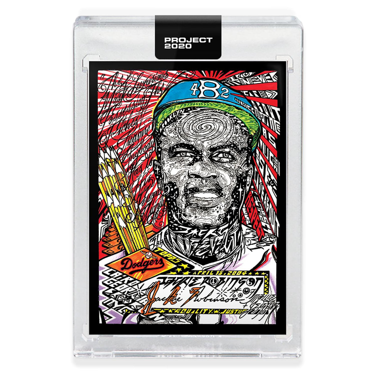 Topps PROJECT 2020 Card 299 - 1952 Jackie Robinson by JK5