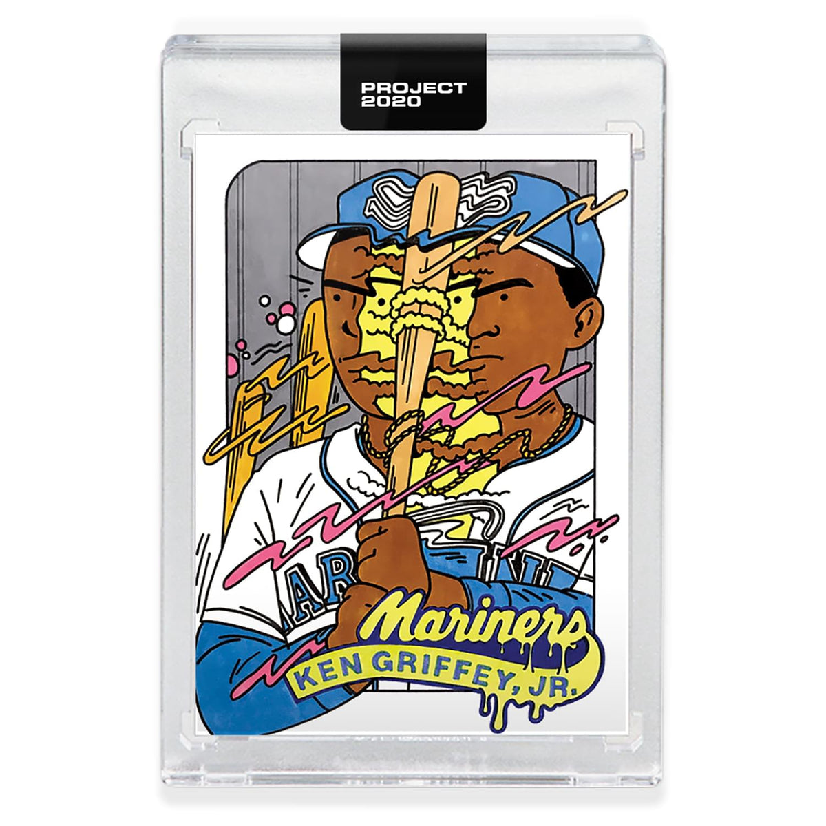 Topps PROJECT 2020 Card 300 - 1989 Ken Griffey Jr. by Ermsy