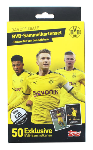 Topps BVB Curated Trading Card Set | Designed by the Players | 50 Cards