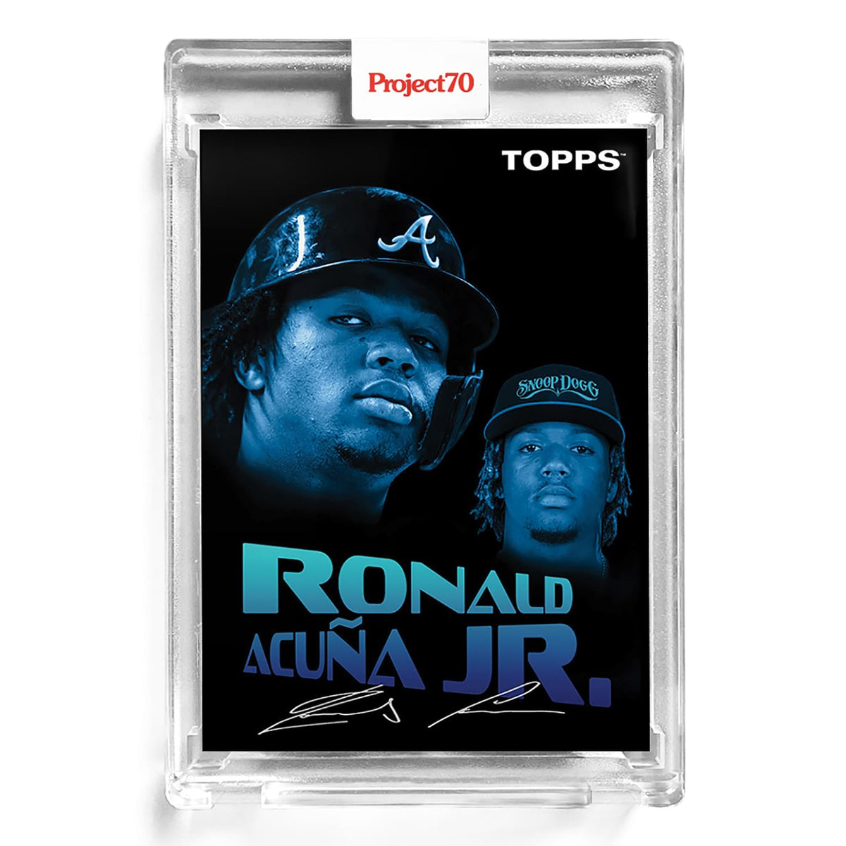 Topps Project70 Card 4 - 1954 Ronald Acuna Jr. by Snoop Dogg