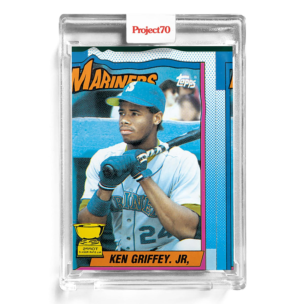 Topps Project70 Card 6 - 1990 Ken Griffey Jr. by Bobby Hundreds