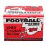 NFL 1989 Topps Football Traded Series - Set of 132 Cards
