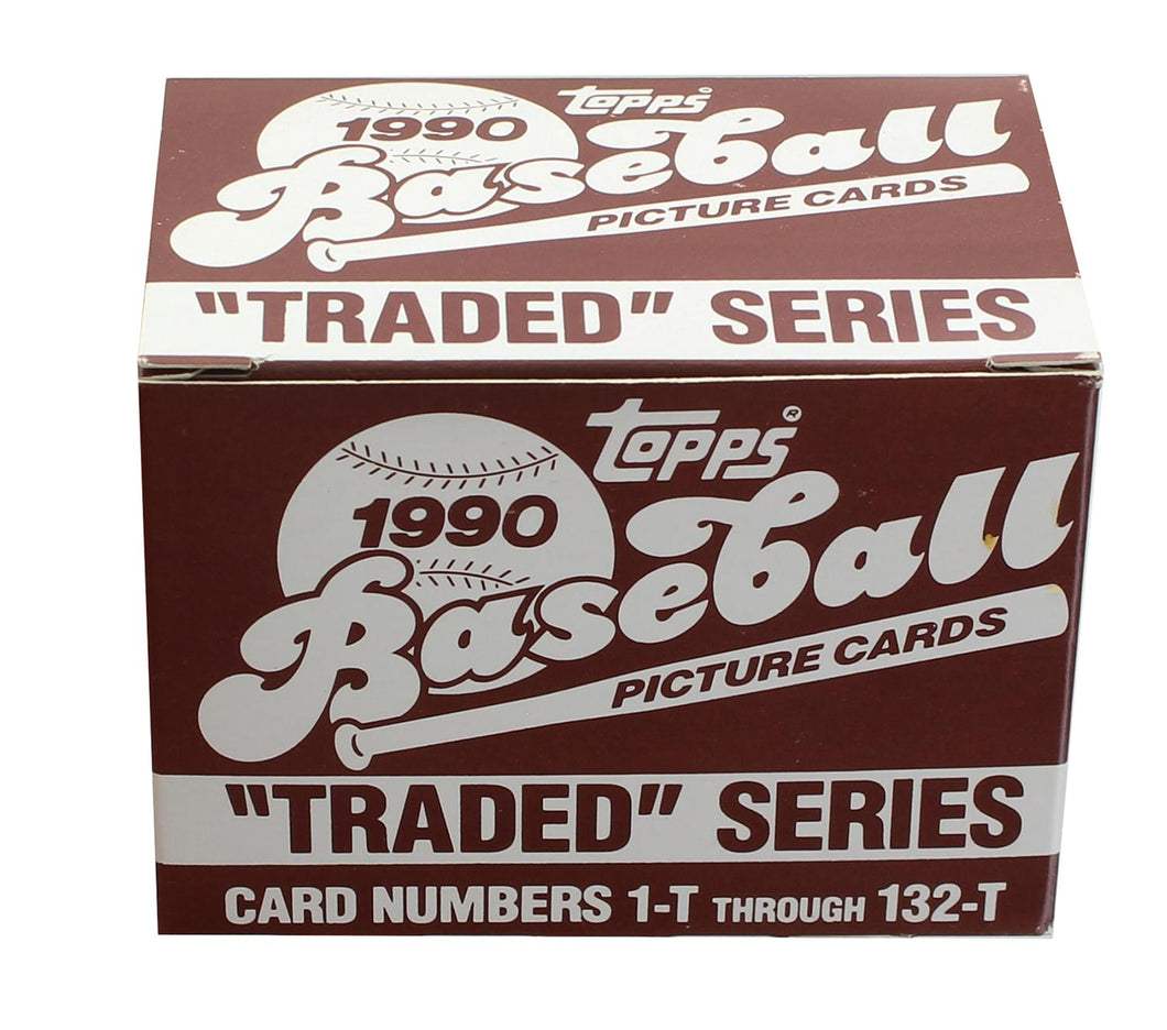 MLB 1990 Topps Baseball Traded Series | Set of 132 Cards