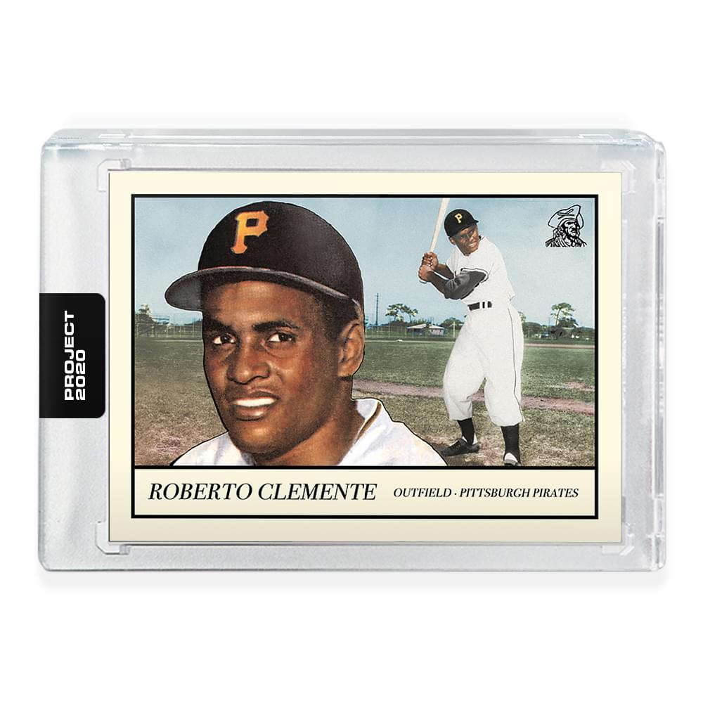 Topps PROJECT 2020 Card 78 - 1955 Roberto Clemente by Oldmanalan