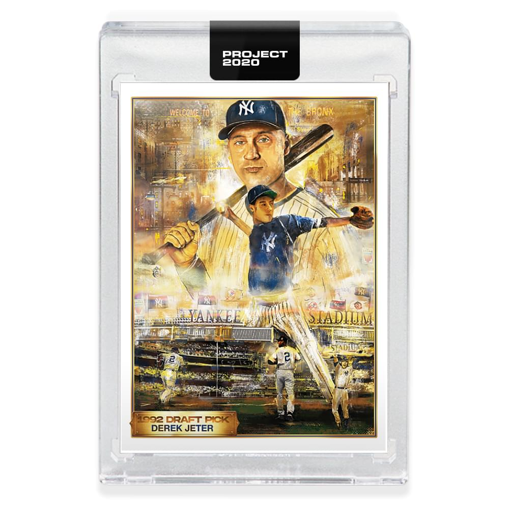 Topps PROJECT 2020 Card 82 - 1993 Derek Jeter by Andrew Thiele