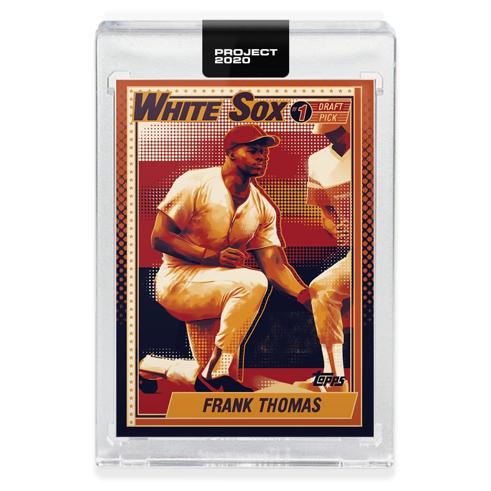Topps PROJECT 2020 Card 83 - 1990 Frank Thomas by Matt Taylor