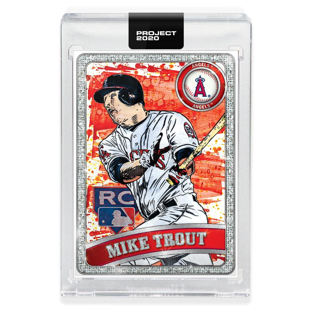Topps PROJECT 2020 Card 100 - 2011 Mike Trout by Blake Jamieson