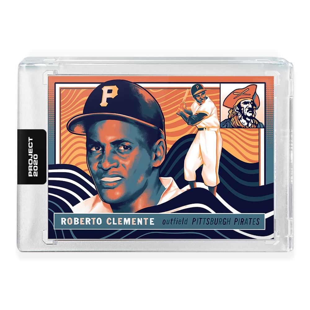 Topps PROJECT 2020 Card 103 - 1955 Roberto Clemente by Matt Taylor