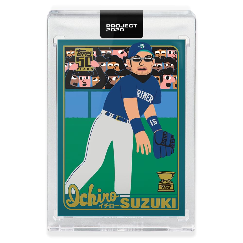 Topps PROJECT 2020 Card 120 - 2001 Ichiro by Keith Shore