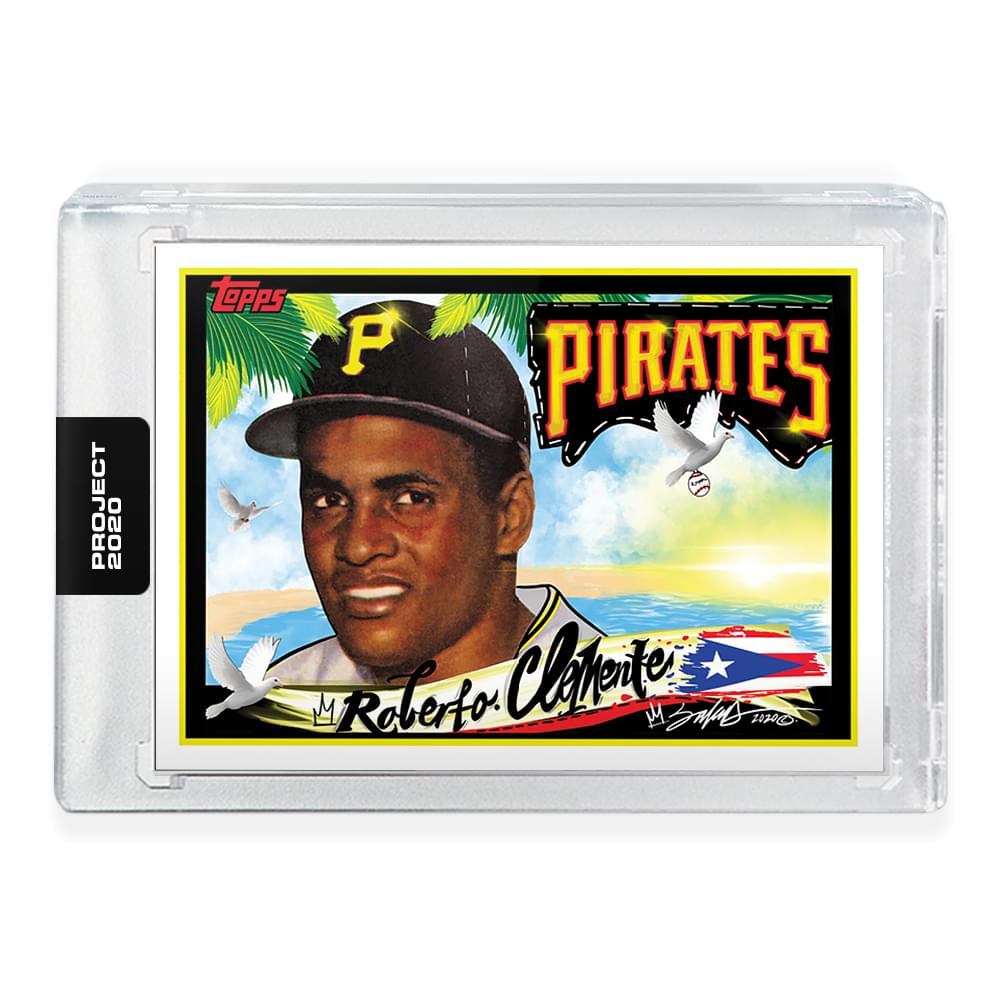 Topps PROJECT 2020 Card 154 - 1955 Roberto Clemente by King Saladeen
