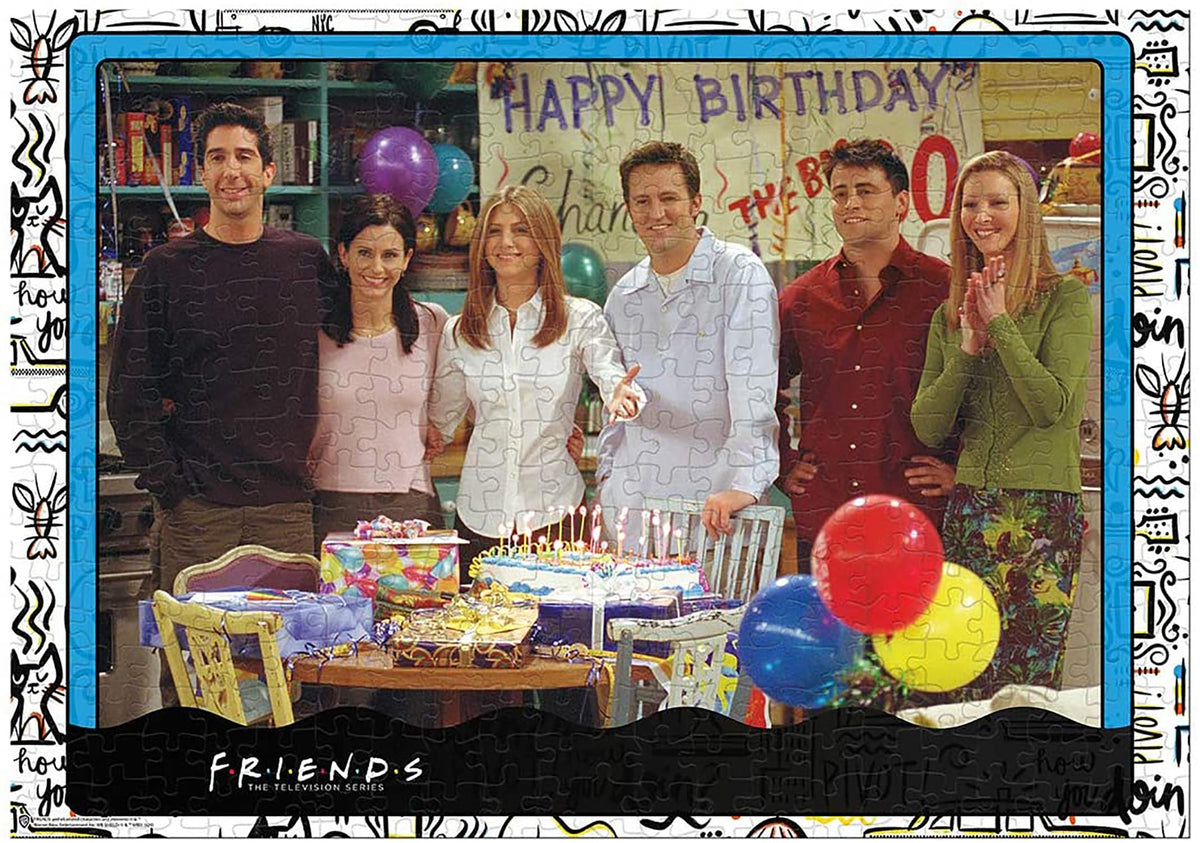 Friends Birthday 1000 Piece Jigsaw Puzzle