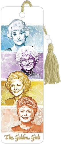 The Golden Girls 8.75 Inch Character Bookmark with Tassel