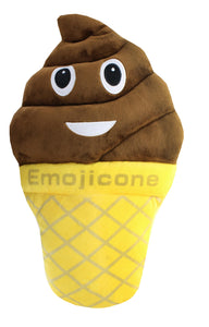 "Emojicone 20"" Ice Cream Cone Pillow"