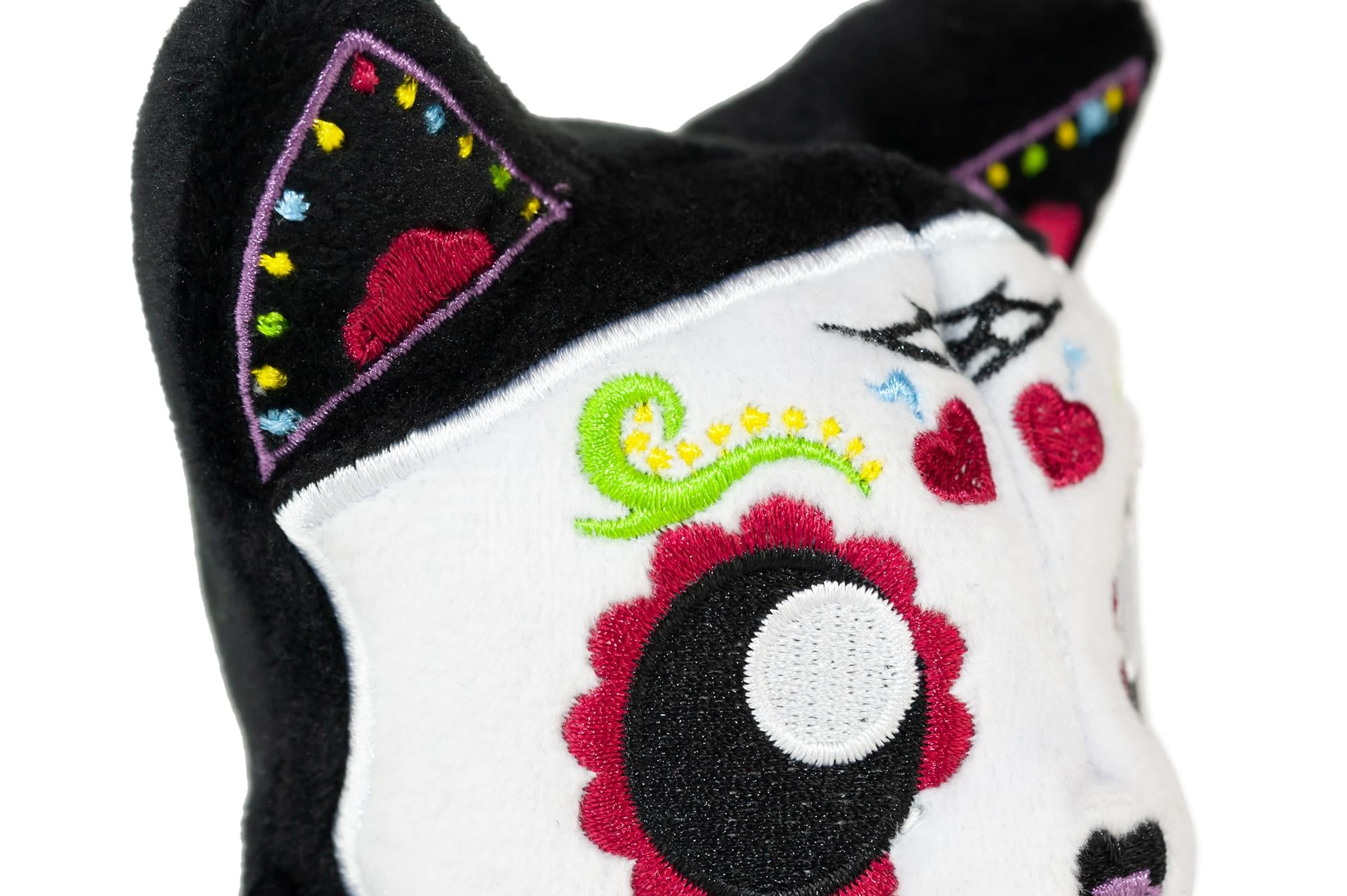 Tentacle Kitty 4-inch Little Ones Plush - Day Of The Dead Sugar Skull Design