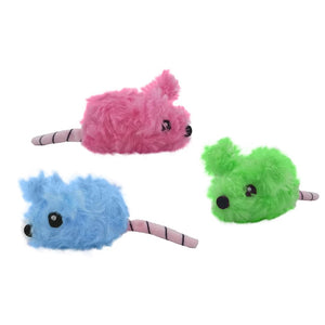 Tentacle Kitty 5 Inch Cotton Candy Mice Plush | Scented 3 Pack