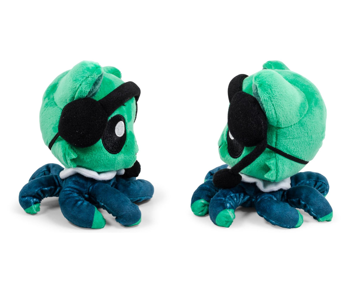 Tentacle Kitty First Responders & Essentials Little Ones Plush | Call-in Kitty