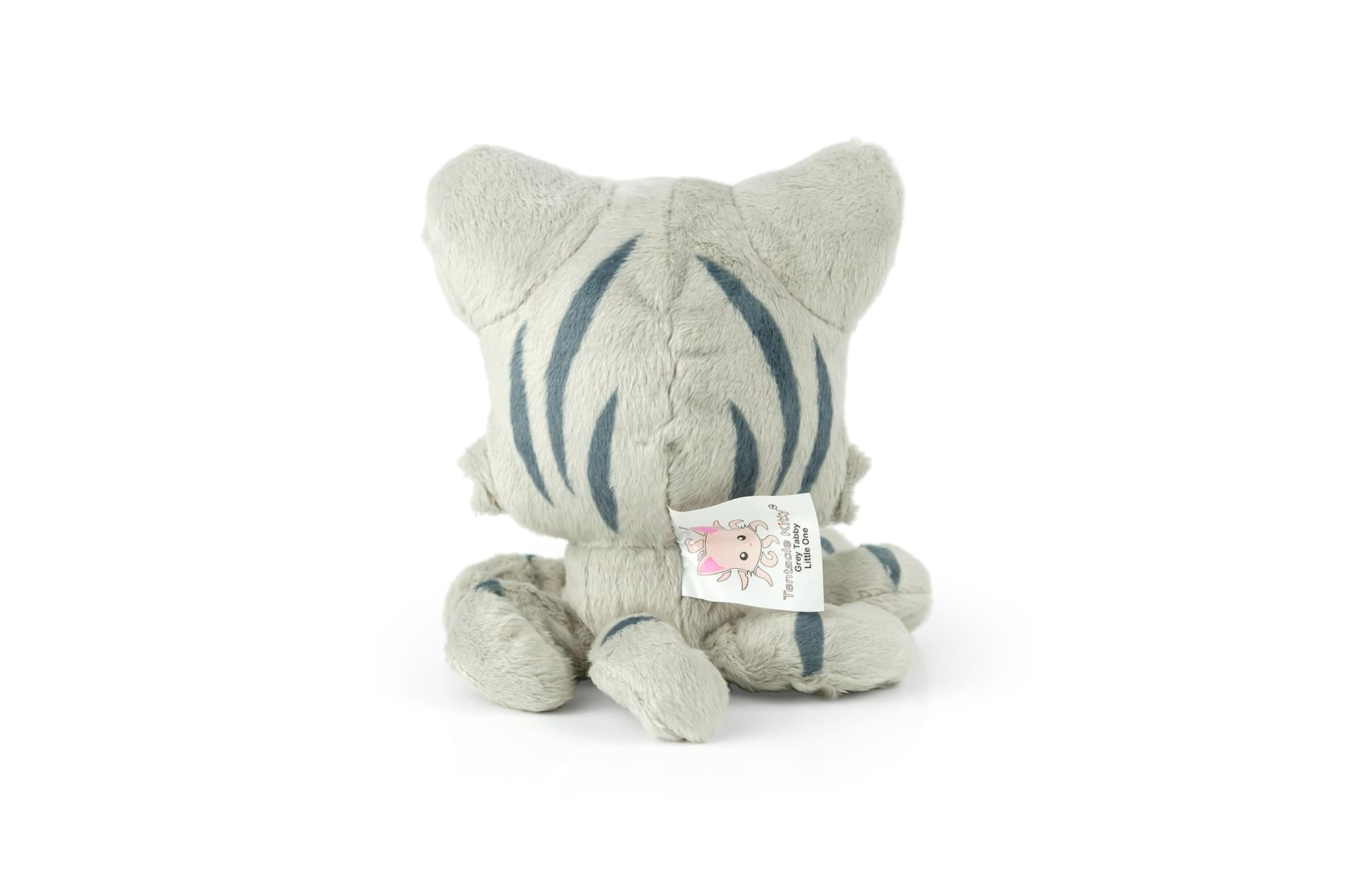 "Tentacle Kitty Little Ones 4"" Plush: Grey Tabby"
