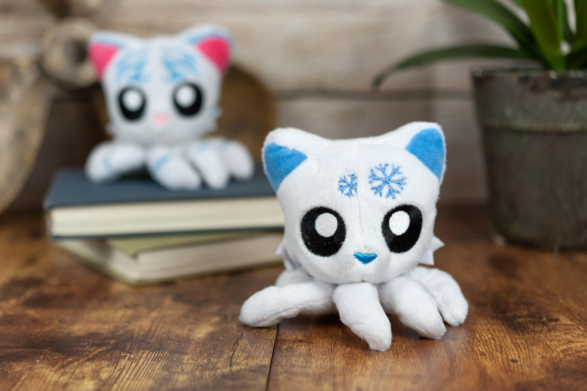 Tentacle Kitty Little Ones 4 Inch Plush Animal | Snowflake