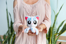 Load image into Gallery viewer, Tentacle Kitty Little Ones 4 Inch Plush Animal | Hunter