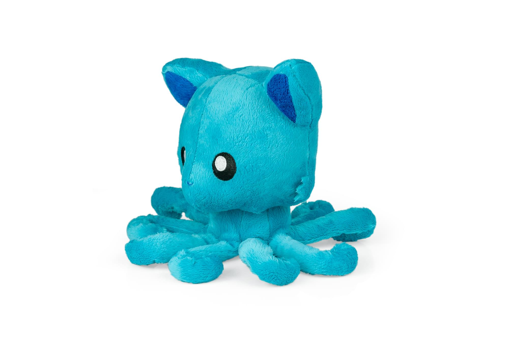 "Tentacle Kitty 8"" Plush Paradise Blue"