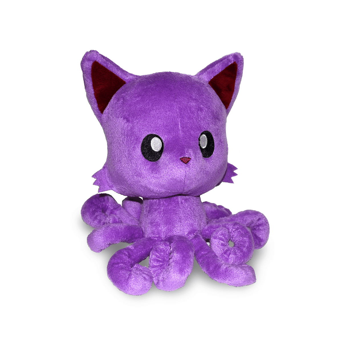 Tentacle Kitty 8 Inch Plush Purple