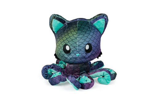 Tentacle Kitty 8 Inch Plush Animal | Deep Sea Kitty