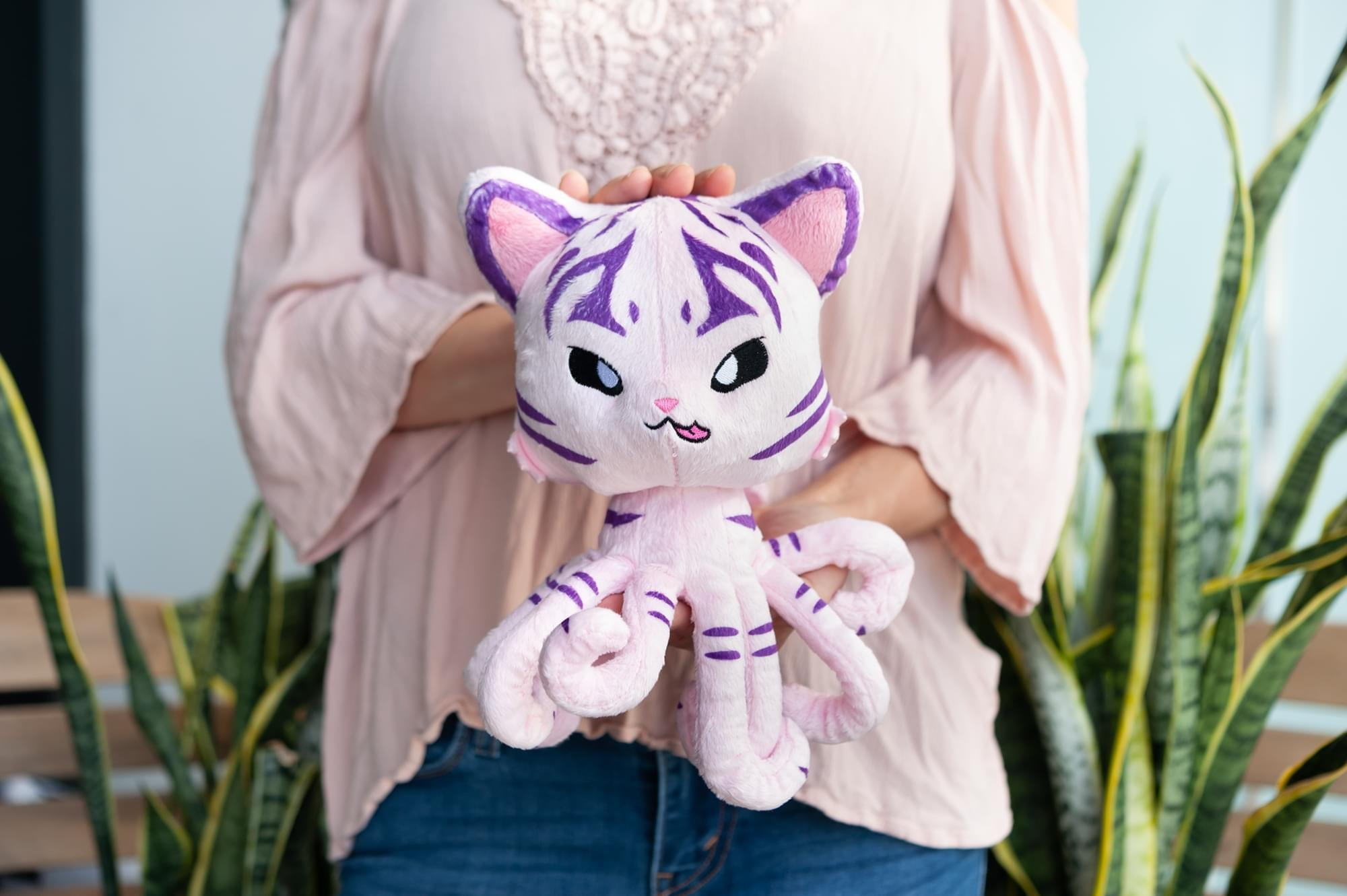 Tentacle Kitty Series Little One The Huntress Plush Collectible | 8 Inches Tall