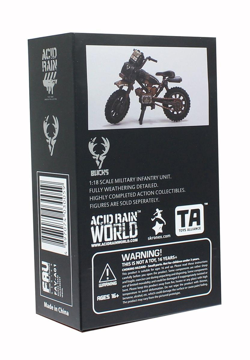Acid Rain FAV Series Bucks Team Wildebeest WB3b Off-Road Motorcycle