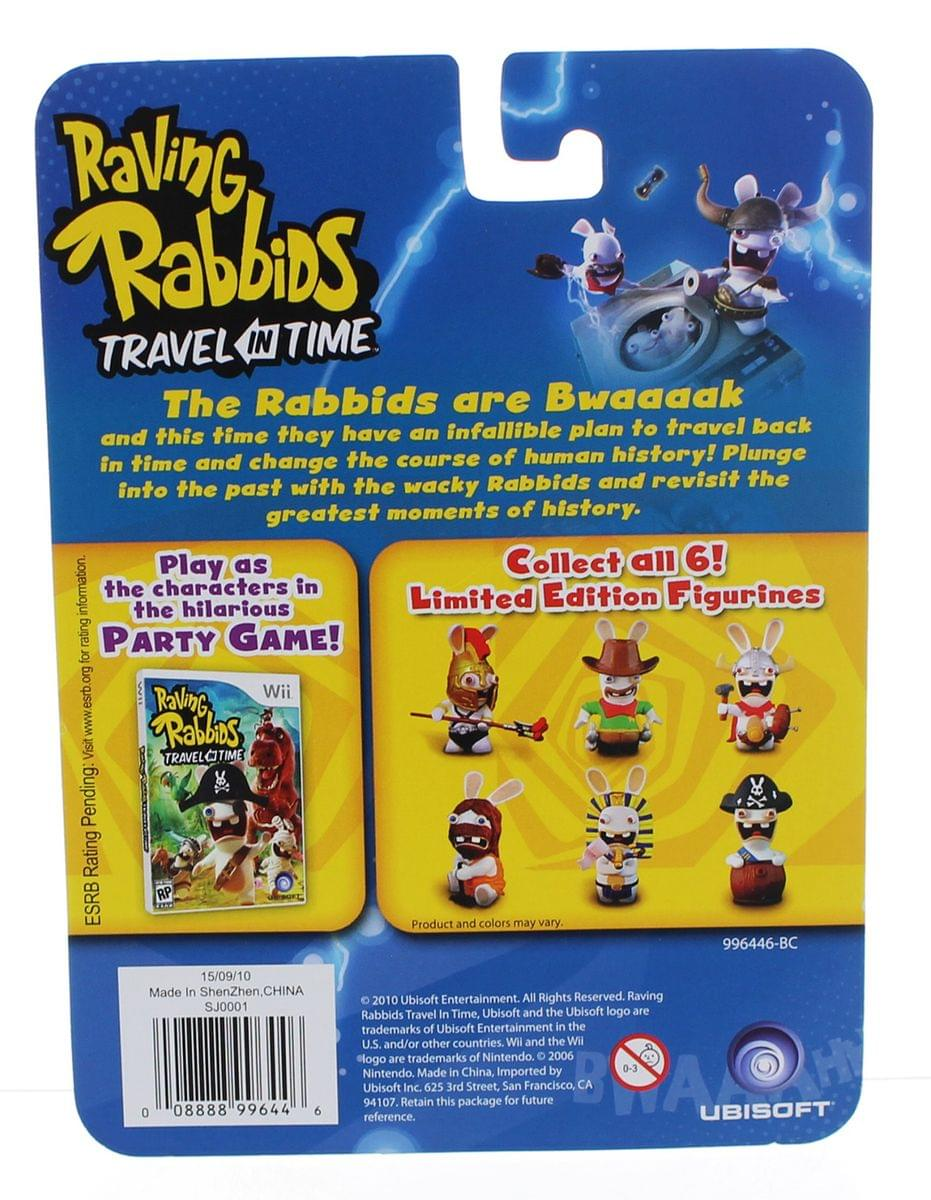 "Raving Rabbids ""Travel in Time"" 2.5"" Mini Figure: Cowboy Rabbid"