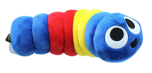 Slither.IO 8 Inch Bendable Plush | Blue/Yellow/Red