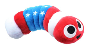 Slither.IO 8 Inch Bendable Plush | Patriotic