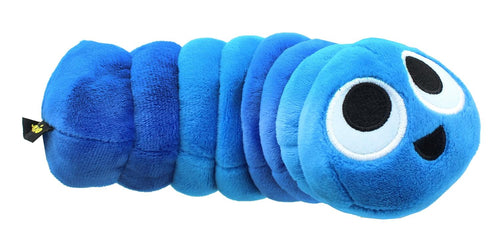 Slither.IO 8 Inch Bendable Plush | Blue/Aqua