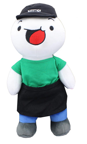The Odd 1s Out 8 Inch Full Body Plush | James With Green Shirt