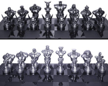 Load image into Gallery viewer, Street Fighter 25th Anniversary Resin Chess Set w/ Game Board