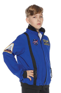 Blue Astronaut Jacket Child Costume