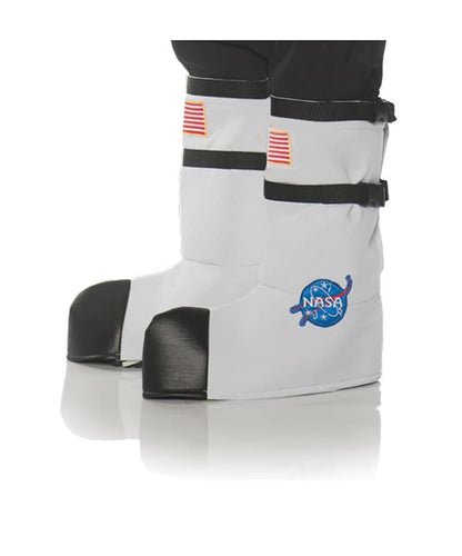 NASA Astronaut Child Costume Boot Tops - One Size - White