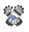 NASA Astronaut Child Costume Gloves - One Size - Silver
