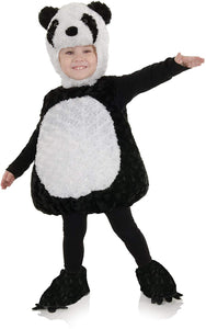Belly Babies Panda Costume Child Toddler