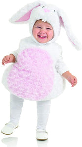 White Rabbit Belly Babies Toddler Costume | X-Small