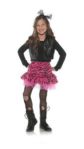 80's Zebra Rocker Child Costume